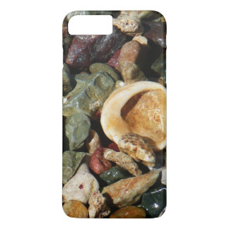 Shells, Rocks and Coral Beach Nature Theme iPhone 7 Plus Case