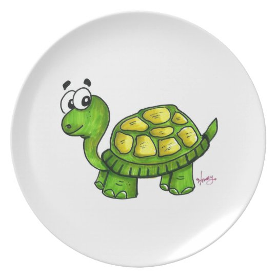 Shelly the Turtle Plate