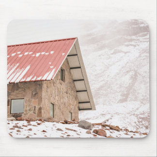 Shelter at Chimborazo Mountain in Ecuador Mouse Pad
