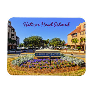 Shelter Cove Harbour & Marina Hilton Head Island Magnet