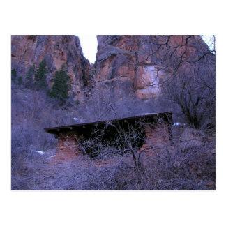 Shelter, Grand Canyon National Park Postcard