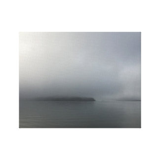 Shelter Island Fog Canvas Print