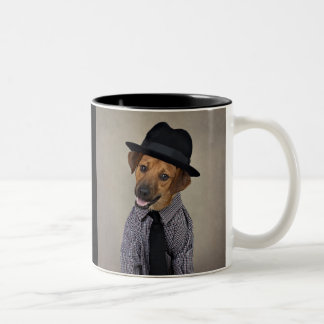 Shelter Pets Project - Bubba Two-Tone Coffee Mug