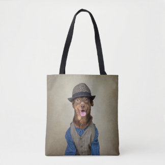 Shelter Pets Project - Red Boy Tote Bag