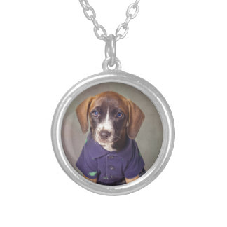 Shelter Pets Project - Rhett Silver Plated Necklace