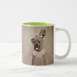 Shelter Pets Project - Tigger Two-Tone Coffee Mug