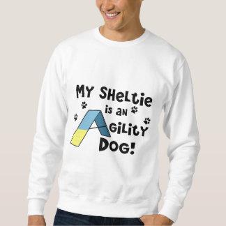 Sheltie Agility Dog Sweatshirt