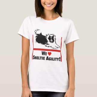 Sheltie Agility Love T-Shirt