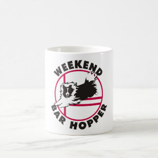 Sheltie Agility Weekend Bar Hopper Coffee Mug