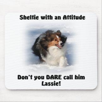 Sheltie Attitude Mousepad