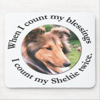 Sheltie Blessing #4 Mousepad