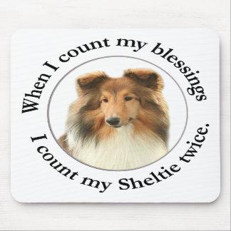 Sheltie Blessing Mousepad #1
