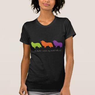 Sheltie Colors My world T-Shirt