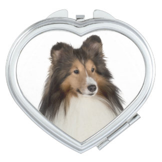 Sheltie Compact Mirror