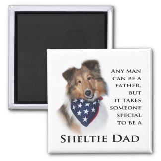 Sheltie Dad #3 Magnet