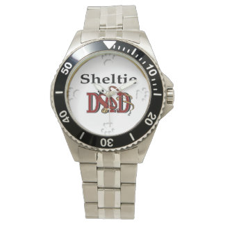 Sheltie Dad Gifts Wristwatch