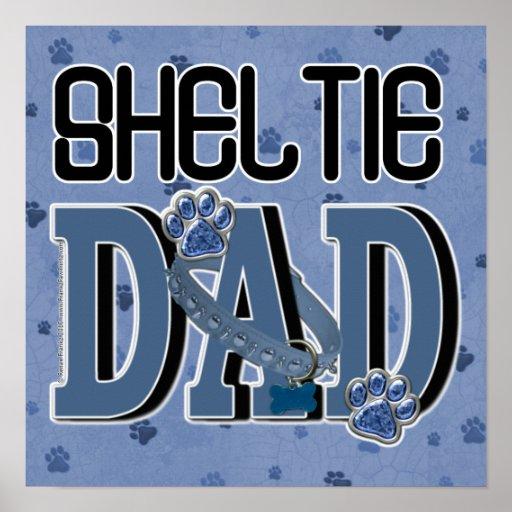 Sheltie DAD Print