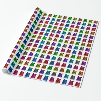 Sheltie dog art 0207 WB Wrapping Paper