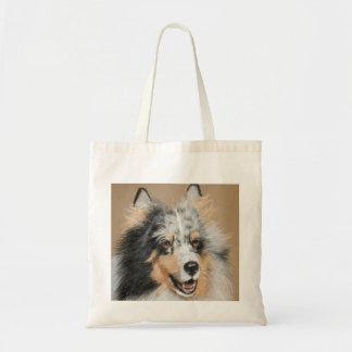 SHELTIE  DOG BAG