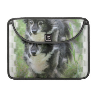 "Sheltie Dog Picture 13"" MacBook Sleeve"