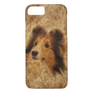 Sheltie face iPhone 8/7 case