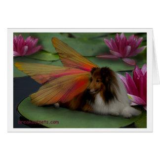 Sheltie Fairy Notecard