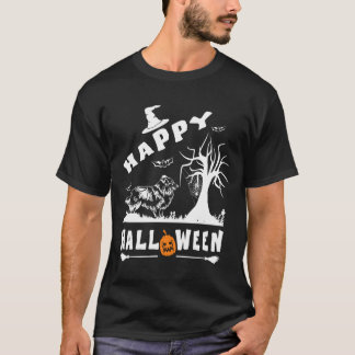 SHELTIE Happy Halloween Dog Lovers Gift T-Shirt