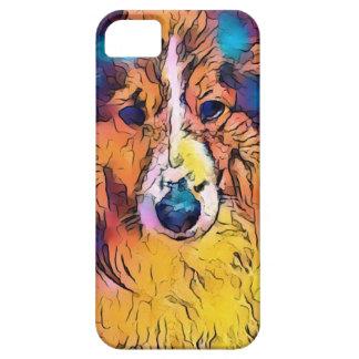 Sheltie image iPhone 5 cases