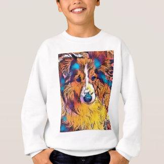 Sheltie image sweatshirt