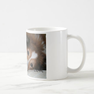 Sheltie Love mug