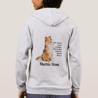 Sheltie Mom Hoodie