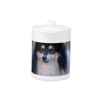 Sheltie Photo Teapot
