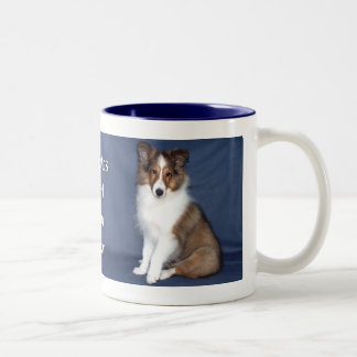 Sheltie Puppy Mug