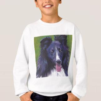 Sheltie Shetland Sheepdog fine art dog painting Sweatshirt