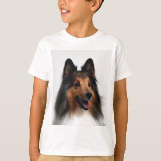 Sheltie T-Shirt For Kids