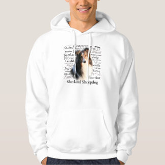 Sheltie Traits Hooded Sweatshirt