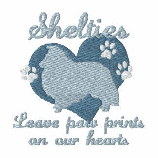 Shelties Leave Paw Prints