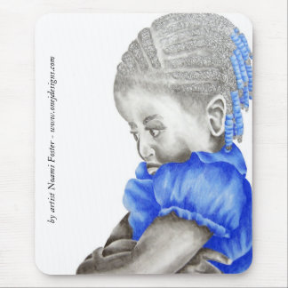 Shemiah Blue Mousepad