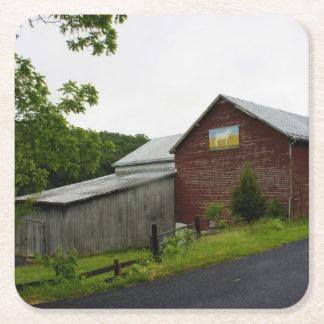 Shenandoah Farm Square Paper Coaster