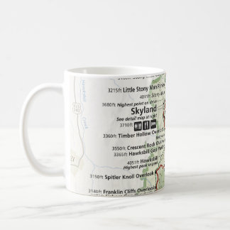 Shenandoah map mug