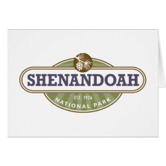 Shenandoah National Park Card