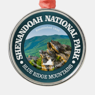 Shenandoah National Park Metal Ornament
