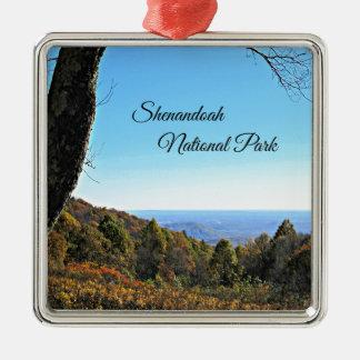 Shenandoah National Park Metal Ornament