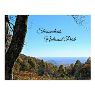 Shenandoah National Park Postcard