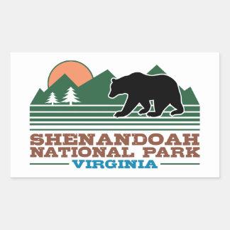 Shenandoah National Park Virginia Sticker