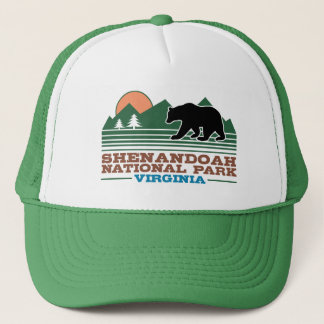 Shenandoah National Park Virginia Trucker Hat