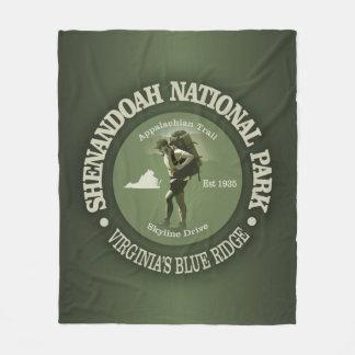 Shenandoah NP Fleece Blanket