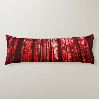 Shenandoah Red Body Pillow