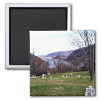 Shenandoah River From Harpers Ferry Cemetery Magnet