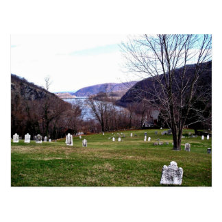 Shenandoah River From Harpers Ferry Cemetery Postcard